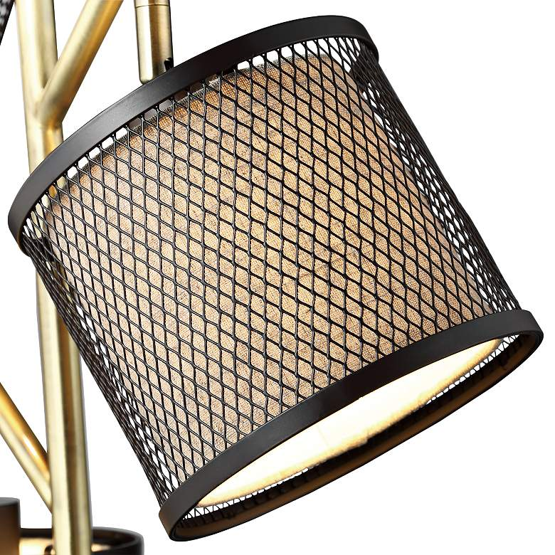 Lite Source Elena Coffee 3-Light Metal Floor Lamp more views