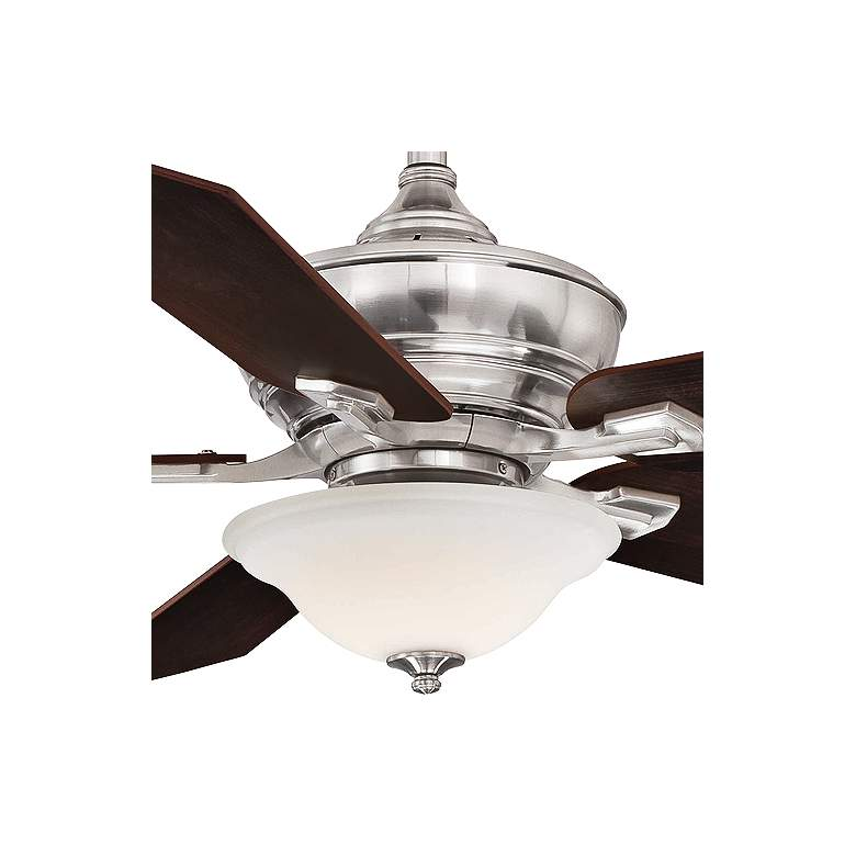 "52"" Fanimation Camhaven V2 Brushed Nickel LED Ceiling Fan more views"