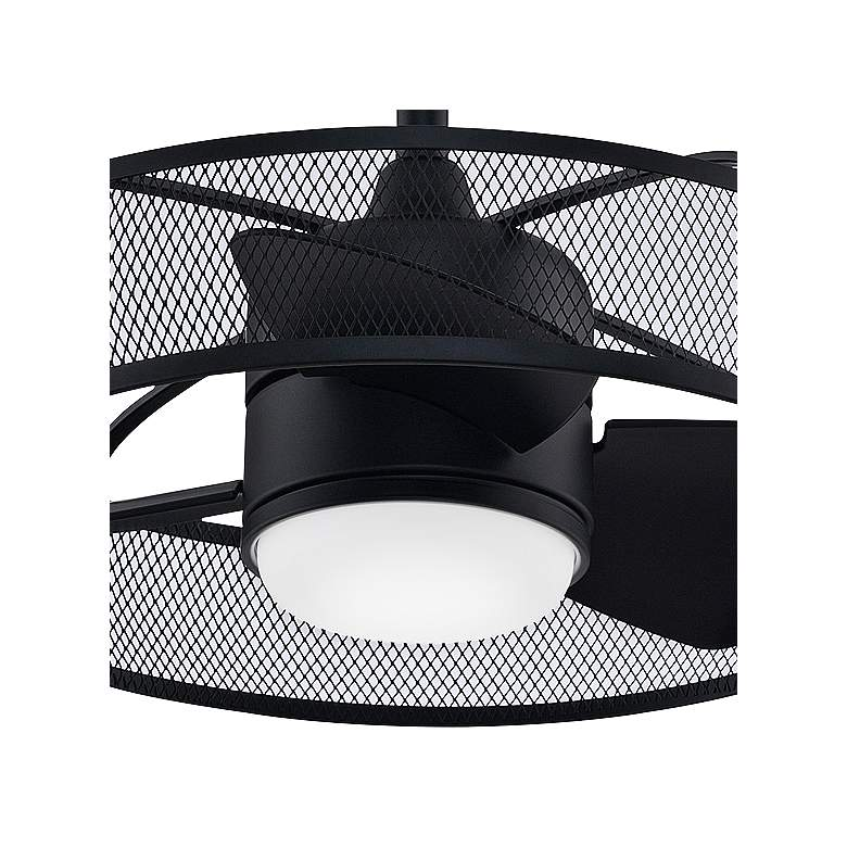 "22"" Fanimation Henry Black LED Ceiling Fan more views"