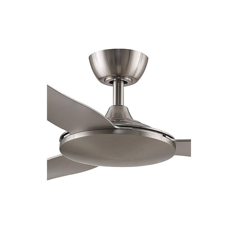 "52"" Fanimation Glideaire Brushed Nickel Ceiling Fan more views"