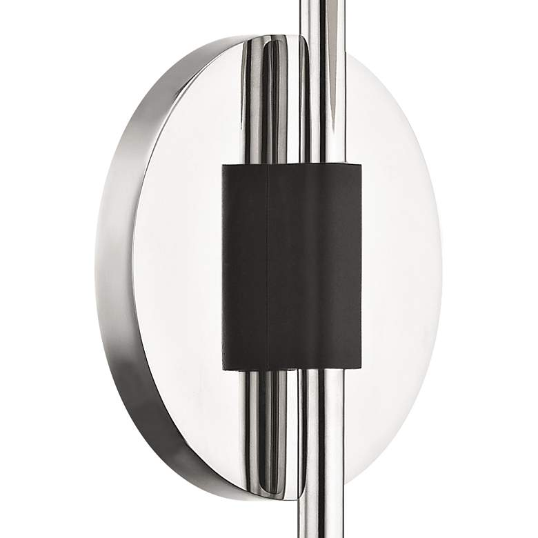 "Mitzi Renee 20"" High Polished Nickel Globe Wall Sconce more views"