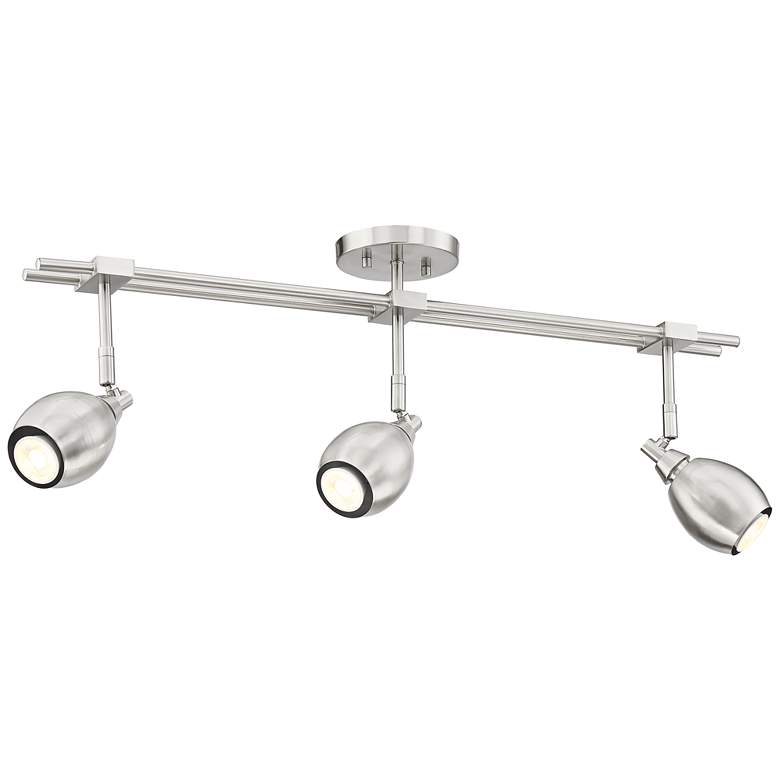 Pro Track Ericson 3-Light Brushed Nickel LED Track Fixture more views