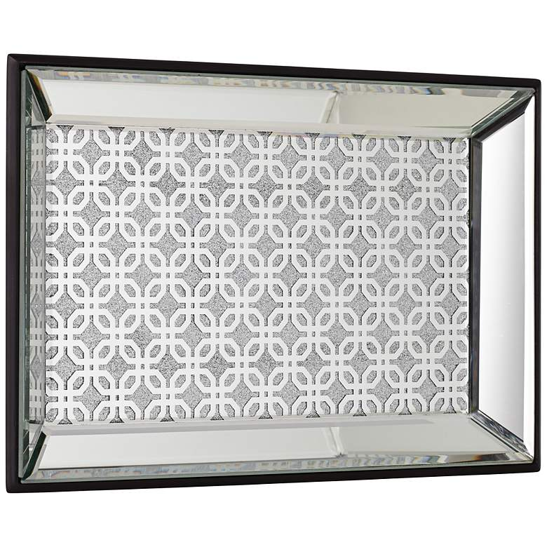 Marrakesh Silver Mirrored Tray more views