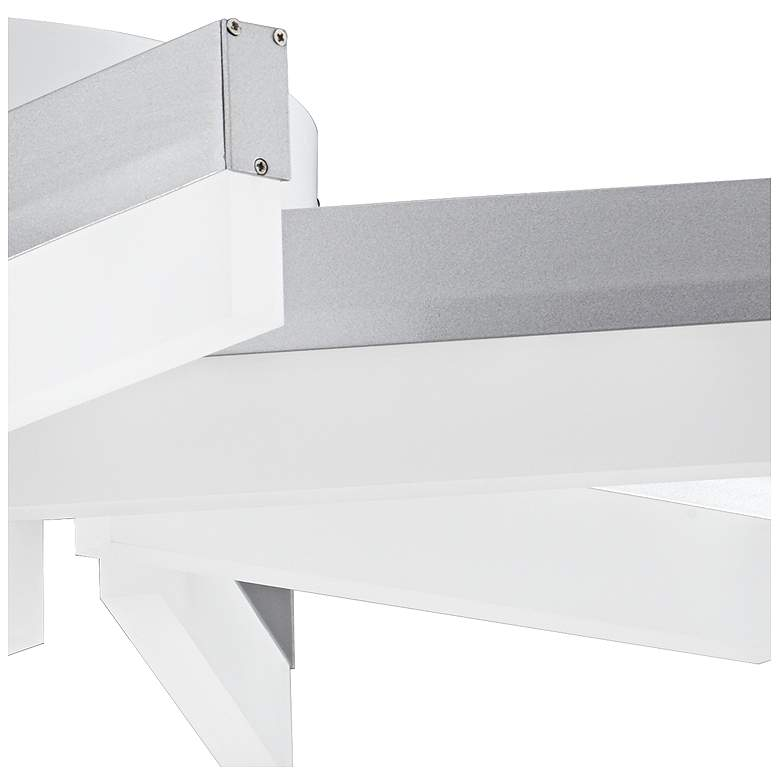 "Spirelli 19"" Wide Aluminum LED Ceiling Light more views"