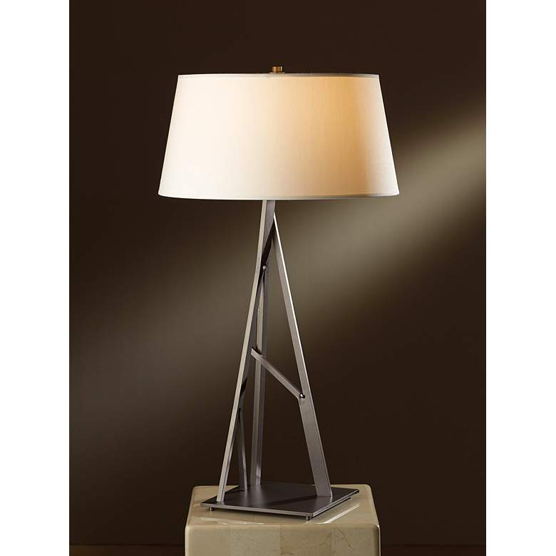Hubbardton Forge Arbo Burnish Steel Table Lamp more views