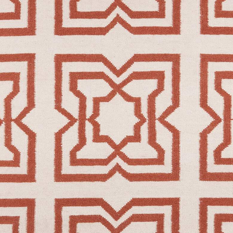 Chandra Lima LIM25719 5'x7' Beige and Orange Area Rug more views
