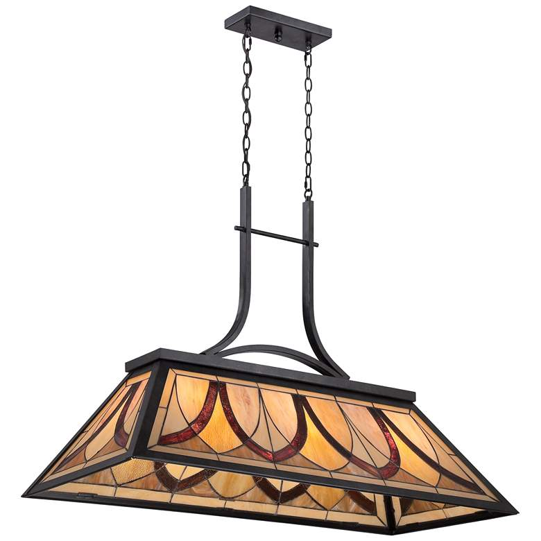 "Asheville 29"" High Old Bronze Kitchen Island Light Pendant more views"