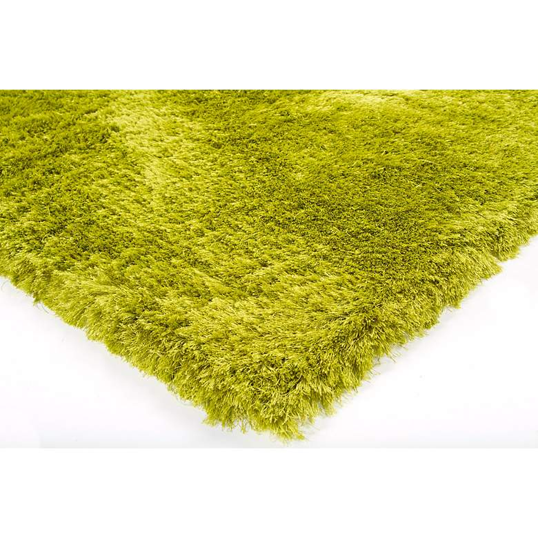 "Chandra Naya NAY18800 5'x7'6"" Green Shag Area Rug more views"