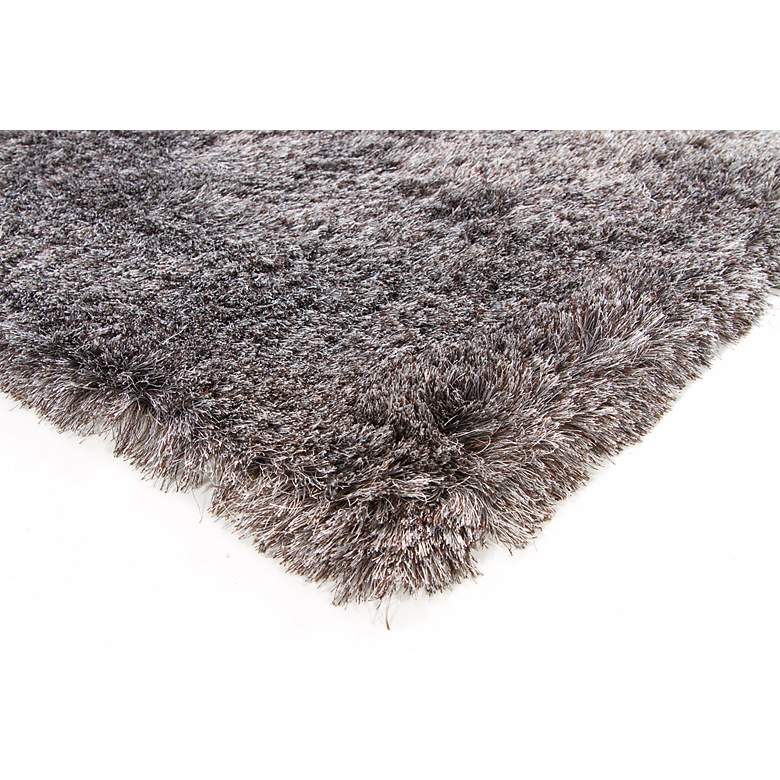 "Chandra Naya NAY18807 5'x7'6"" Charcoal Shag Area Rug more views"