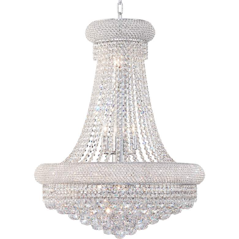 "Primo Collection 24"" Wide Crystal Chandelier more views"
