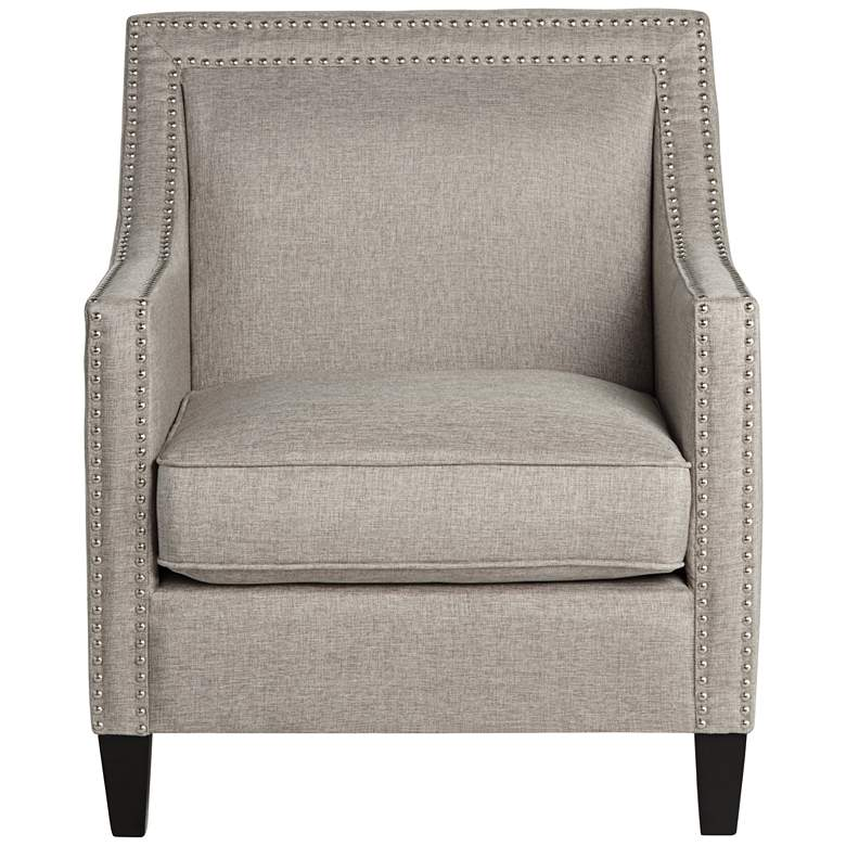 Flynn Heirloom Gray Upholstered Armchair more views