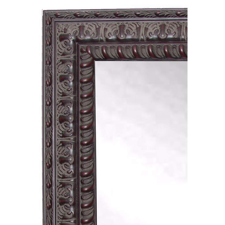 "Redding Dark Mahogany 26"" x 64"" Full Length Mirror more views"