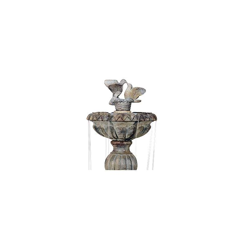 "Fumato Paloma Cascada 56"" Large Courtyard Garden Fountain more views"