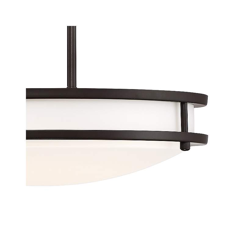 "Solero 16"" Wide Bronze LED Pendant Light more views"