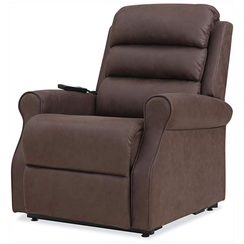 ProLounger® Chocolate Nubuck Power Lift Recliner Chair more views