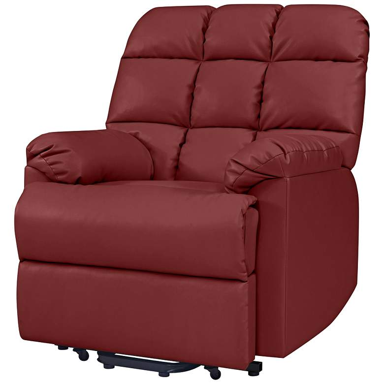 ProLounger® Burgundy Red Power Recliner Chair more views