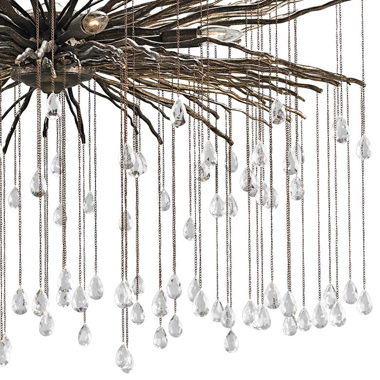 "Currey and Company Fen 38"" Wide Cupertino 6-Light Chandelier more views"