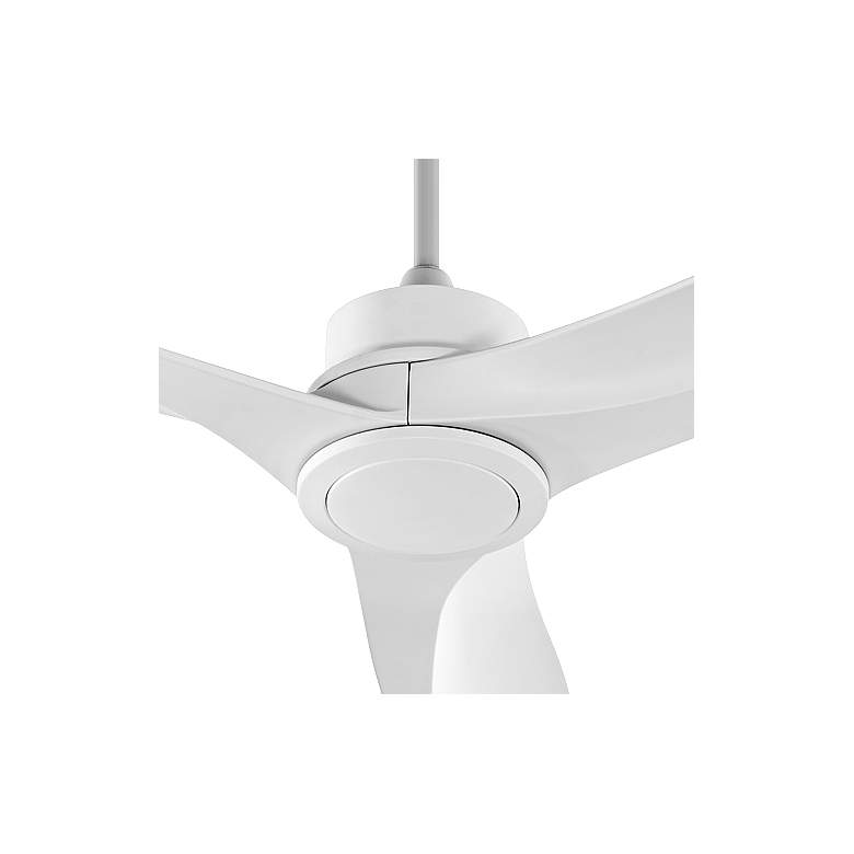 "60"" Quorum Kress Studio White Ceiling Fan more views"
