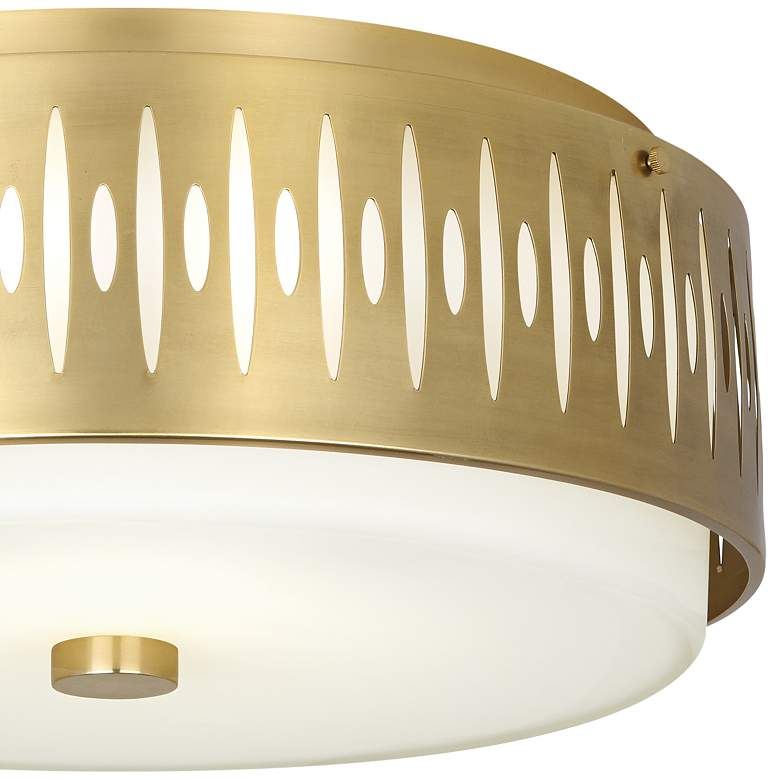 "Robert Abbey Treble 20 1/2"" Wide Modern Brass Ceiling Light more views"