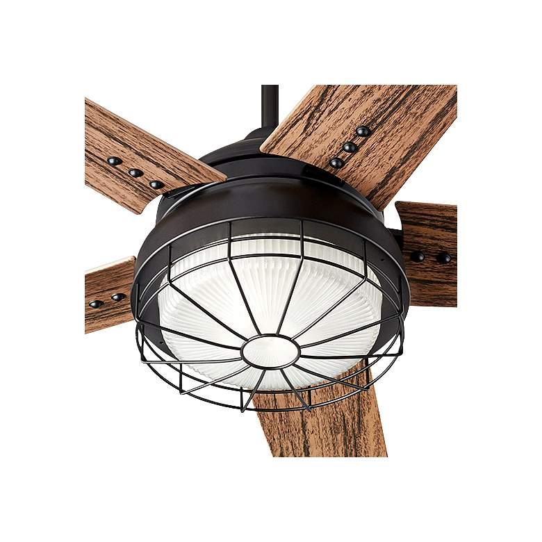 "60"" Quorum Westland Noir LED Patio Ceiling Fan more views"