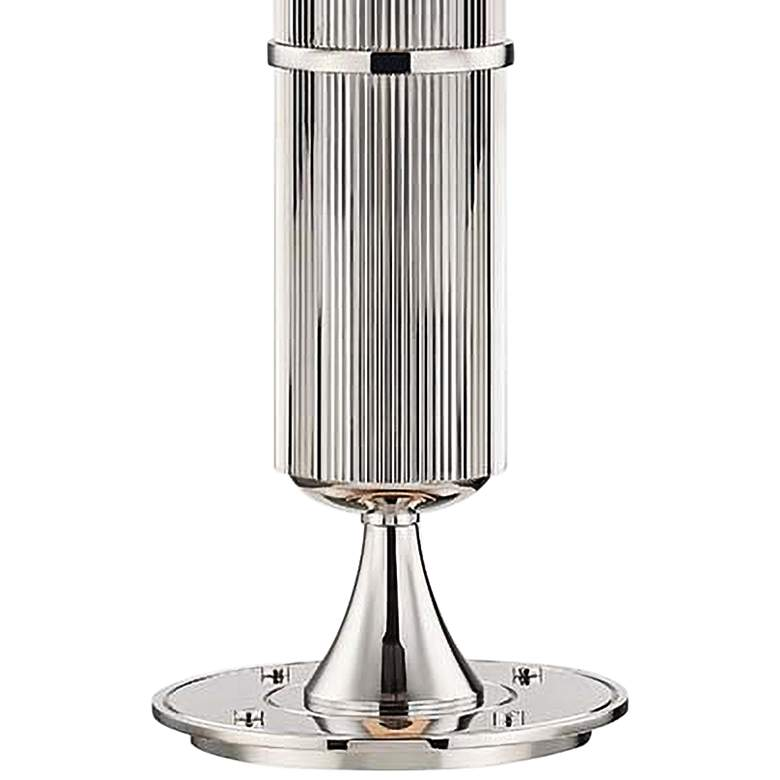 Hudson Valley Tompkins Polished Nickel Metal Table Lamp more views