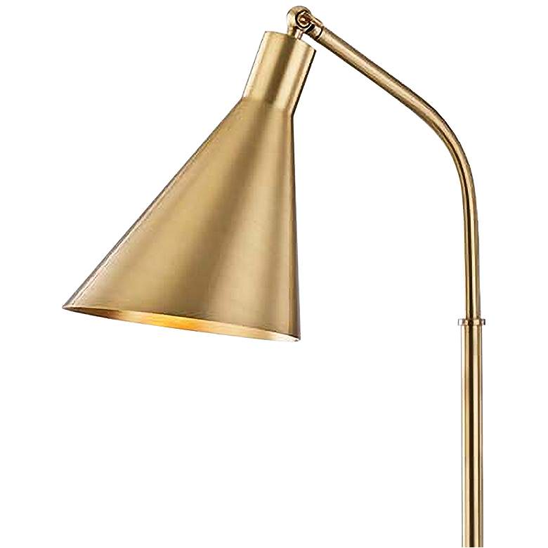 Hudson Valley Stanton Aged Brass Metal Floor Lamp more views