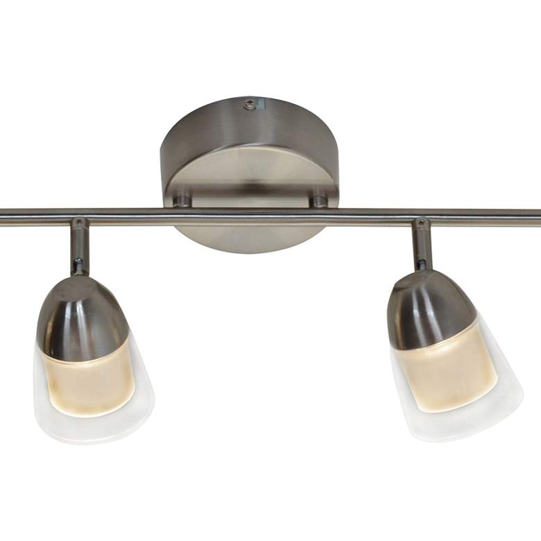 District 4-Light Satin Nickel JA8 LED Track Fixture more views