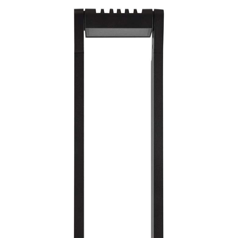 Oculum 24 H Black Low Voltage Led Landscape Bollard Light