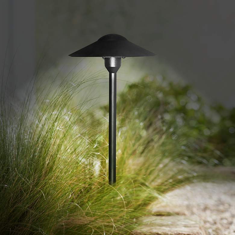 "Feldis 18 1/2"" High Black Landscape Path Light more views"
