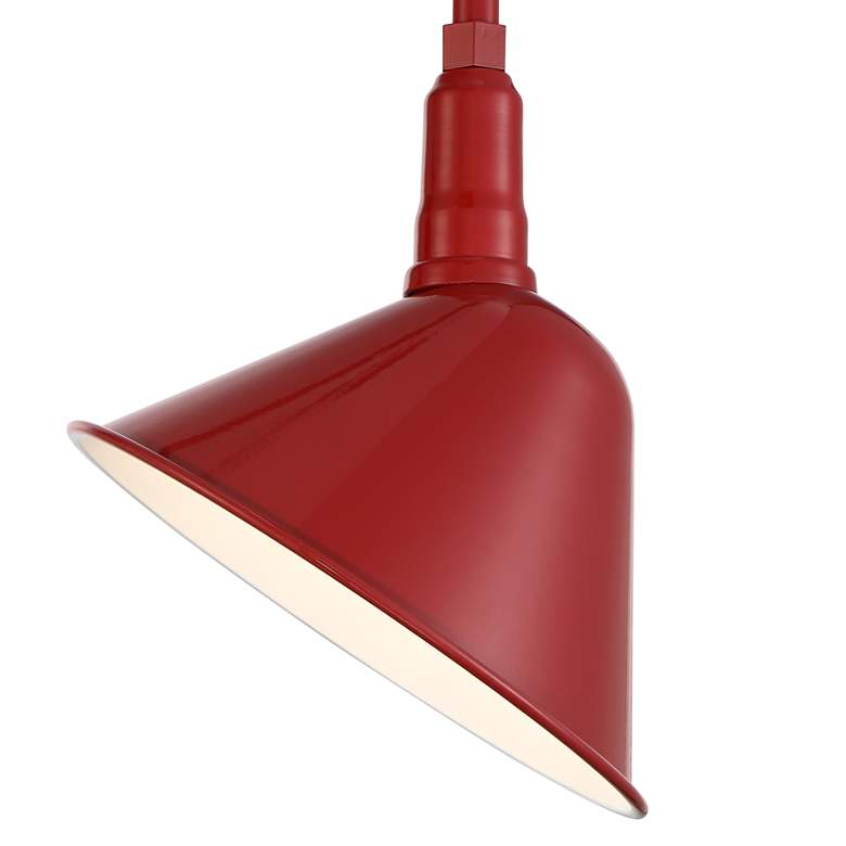 "Neihart 18"" High Rustic Red RLM Outdoor Wall Light more views"