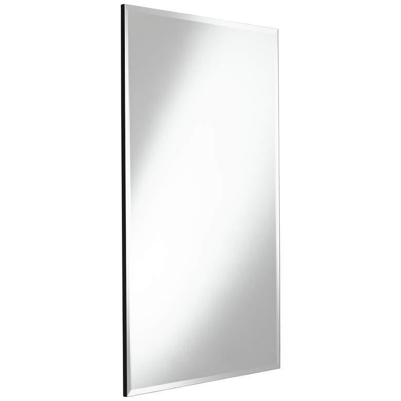 "Brix 24"" x 36"" Frameless Rectangle Vanity Wall Mirror more views"