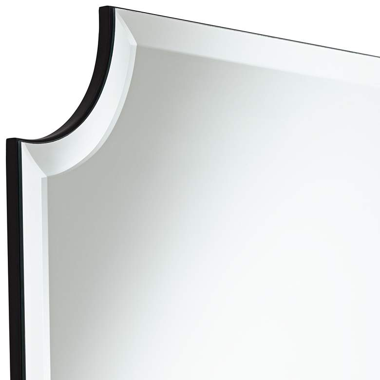 "Brix 24"" x 36"" Frameless Cut Corner Vanity Mirror more views"