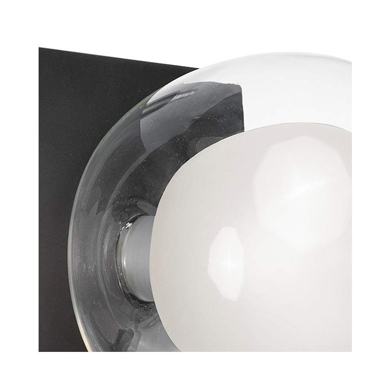 "ET2 Pod 4 3/4"" High Black LED Wall Sconce more views"