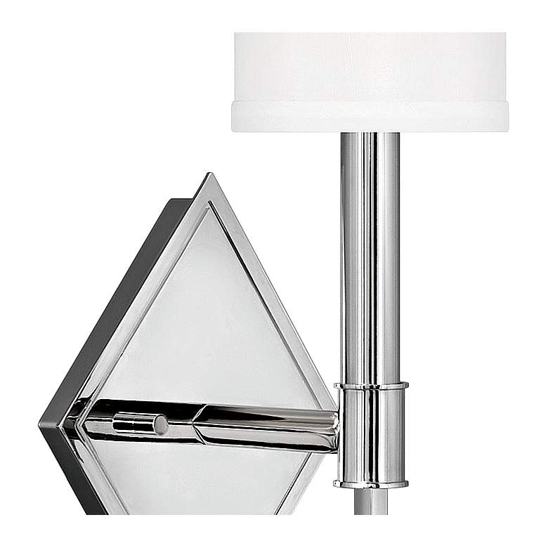 "Hinkley Buchanan 13 3/4"" High Polished Nickel Wall Sconce more views"