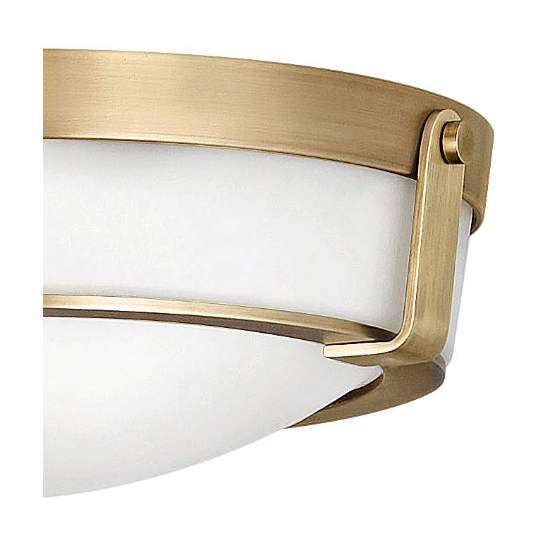 "Hinkley Hathaway 16"" Wide Heritage Brass Ceiling Light more views"