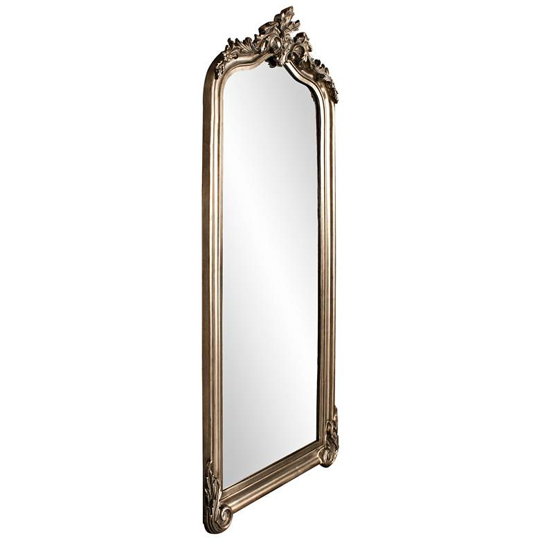 "Tudor Champagne Silver 38""x85"" Oversized Floor Mirror more views"