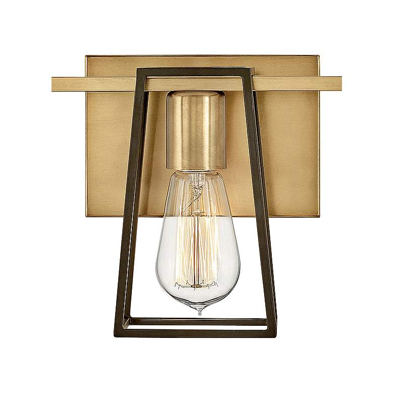 "Hinkley Filmore 24"" Wide Heritage Brass 3-Light Bath Light more views"