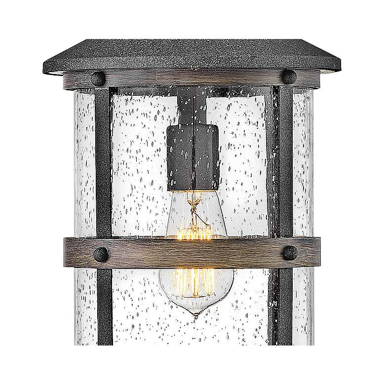 "Hinkley Lakehouse 17 3/4""H Aged Zinc Outdoor Hanging Light more views"