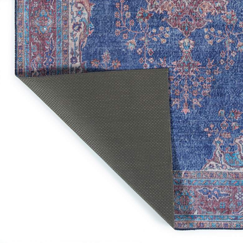 "Kaleen Boho Patio BOH09-17 5'x7'6"" Blue Denim Area Rug more views"