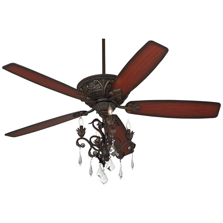 "60"" Casa Montego™ Bronze Chandelier LED Ceiling Fan more views"