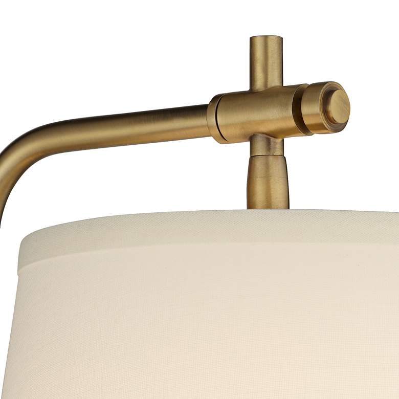 Seline Warm Gold Adjustable Plug-In Wall Lamp more views