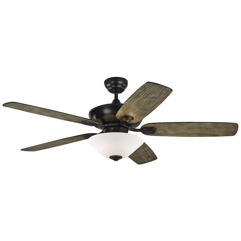 "52"" Colony Max Plus Aged Pewter LED Damp Rated Ceiling Fan more views"