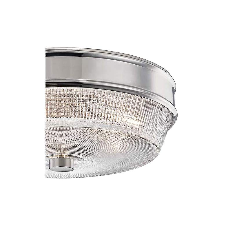 "Mitzi Lacey 10 1/4"" Wide Polished Nickel Ceiling Light more views"