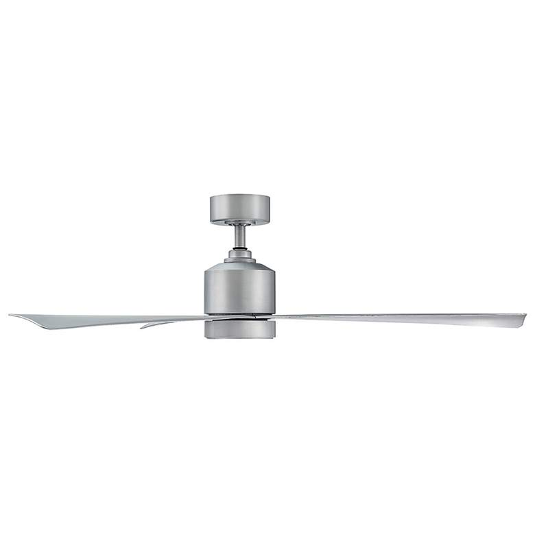 "54"" Lotus Titanium Silver LED Outdoor Ceiling Fan more views"