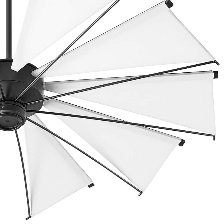 "60"" Quorum Mykonos Noir Ceiling Fan more views"