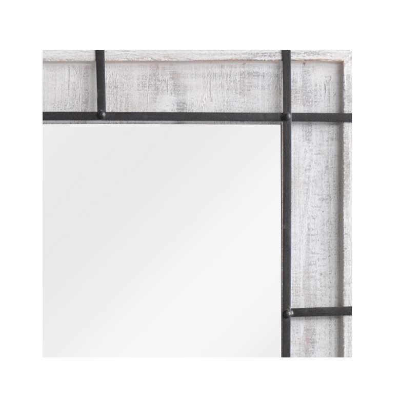 "Soft Reflection Wood 35"" x 48"" Rectangular Wall Mirror more views"