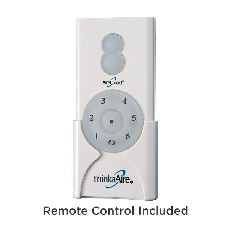 "65"" Minka Aire Slipstream White Outdoor LED Ceiling Fan more views"