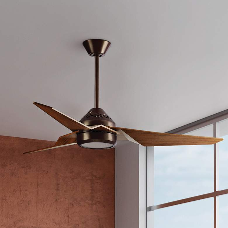 "60"" Kichler Jade Oil-Brushed Bronze LED Ceiling Fan more views"