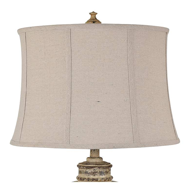 Parklone Tuscan Stone Table Lamps Set of 2 more views