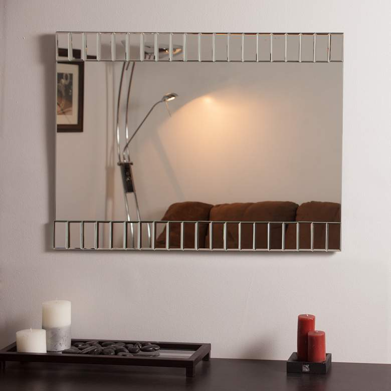 "Beveled 23 1/2"" x 31 1/2"" Rectangular Bathroom Wall Mirror more views"